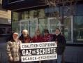 21 avril 2013 – Jour de la terre à Montréal – Nous étions la pour dire … Non au gaz de schiste oui au moratoire permanent !