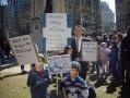 21 avril 2013 – Jour de la terre à Montréal – Des enfants inquiets pour la planète